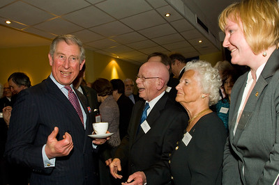 HRH Prince of Wales & Duches of Cornwall Visit POSK