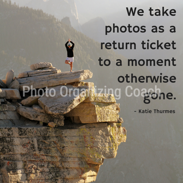 Photos are a return ticket Social Graphic Square