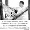 Good photograph communicates fact Social Graphic Square