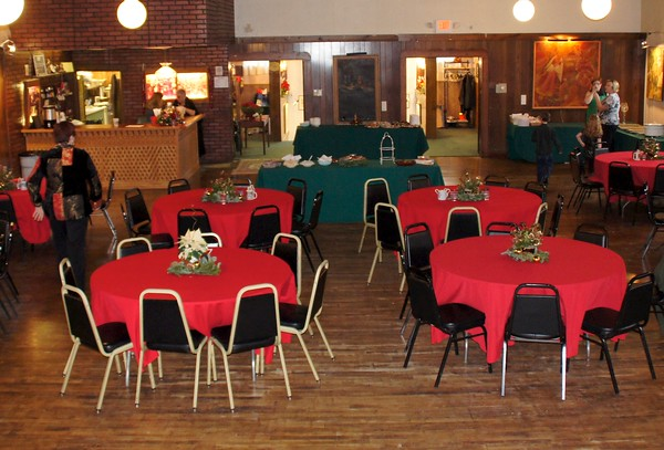 Social Hall - new tables