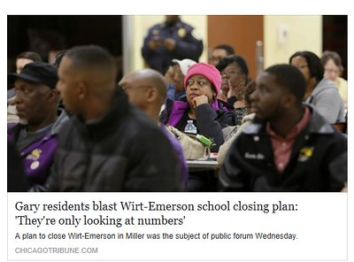 Another School Closing in Gary Indiana