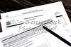 USA Immigration Applications Closeup