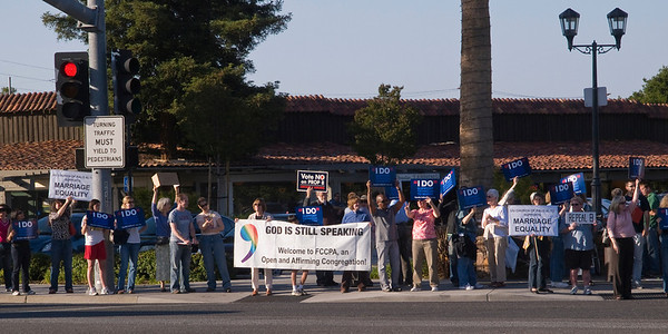 PMEC Decision Day Vigil in Palo Alto