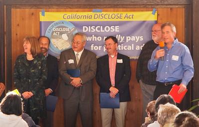 Assemblymembers Sally Lieber (ret.), Jerry Hill, Paul Fong, Rich Gordon, and Jim Beall; former Palo Alto Mayer Peter Drekmeier.