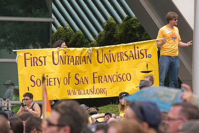 Sign from San Francisco UUs