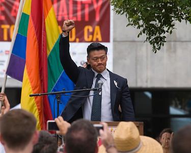 Daniel Choi speaks