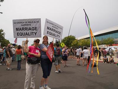 Susan and Eleanor Owicki from the UU Church of Palo Alto