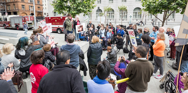 Millions Missing Protest in San Francisco, 25 May 2016