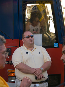 Seems like this was the security guy for the bus people.