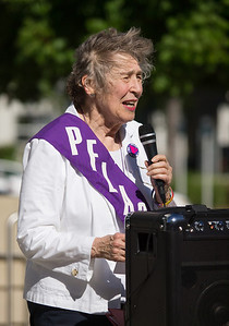 Mitzi Henderson of Palo Alto, past national president of PFLAG (Parents, Families, & Friends of Lesbians and Gays)