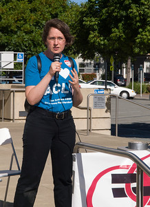 Sara Matlin, Chair of ACLU North Peninsula Chapter