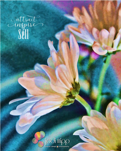 JodiTripp_SellAnything3_AttractSell _Photo- Painted Daisies