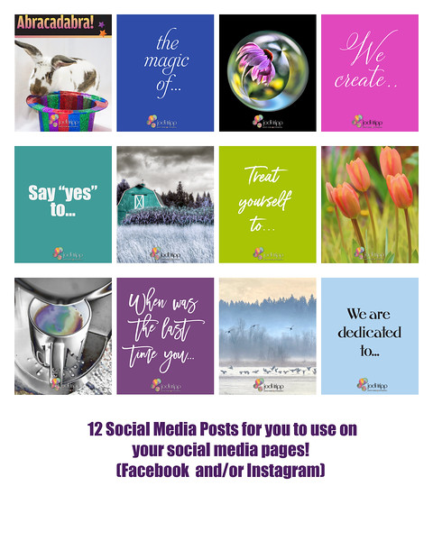 Social Media Boost Packages by Jodi Tripp