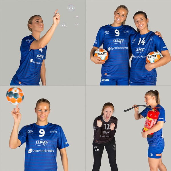 A fantastic photo session with the Tertnes handball team (@tertneshandballelite) last week. The girls were really creative, here are some of the photos.