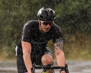 A wet experience today at the Os Triathlon, for both the atheltes and photographer alike.