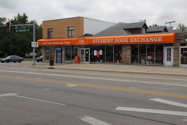 Downtown BG popular spots