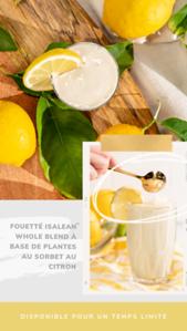 FRENCH Lemon Sorbet