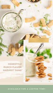 Honestly Ranch Harvest Thins