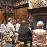 Storytelling in the English Renaissance Room.