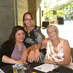 Vanita Farrow, Denise Diebold and Connie Campion.