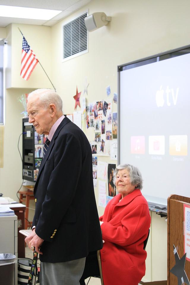 Ken Olsen and his wife, Dickie.
