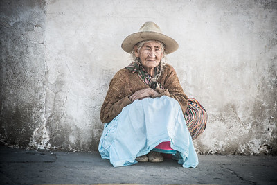 Farmer - Cordillera Blanca, Peru
