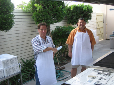 Mark Wilson & Geoff Spencer