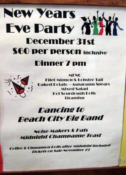 Get ready for a load of fun!!!  Great food and wonderful company is the Santa Ana Elks Ballroom
