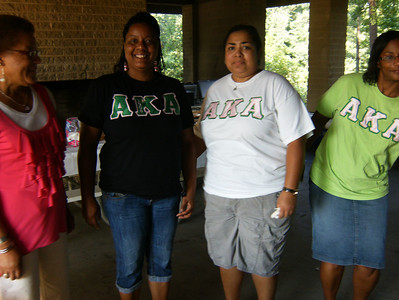 2012 Kappas at the NPHC Cookout