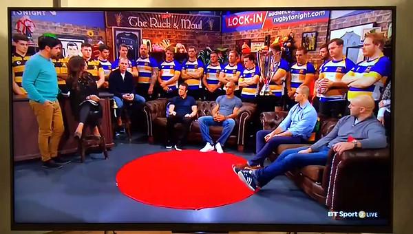 BT Sport Rugby Tonight 2017