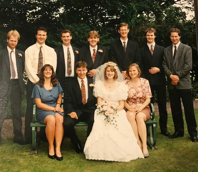 Charlie and Viv's 25th Wedding Anniversary