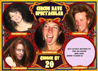 Circus Rave Spectacular <br>09.09.2006