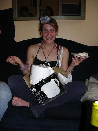 Clare's birthday BBQ 31.4.2005
