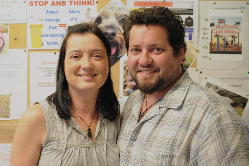 Sue and Claydon