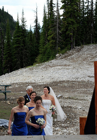 Katya and Bo's Wedding in Fernie <br>21-23.06.2008