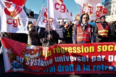 Manifestation du 16 janvier 2020