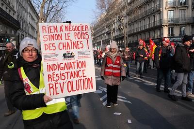 Manifestation du 24 janvier 2020