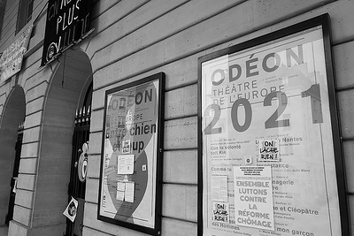 Odéon occupé / © ISHTA