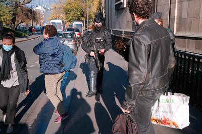 Rassemblement du Trocadéro, à Paris, le 21 novembre 2020 / Stop à la PPL Sécurité globale