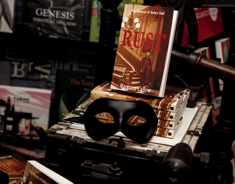 'Rust' by Margaret Callow - Launch at Jarrolds