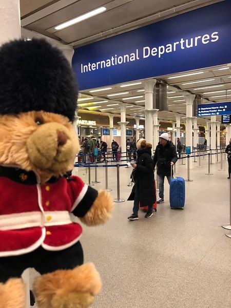 And at International Departures  at St Pancras International