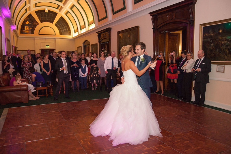 The First Dance and Evening Reception