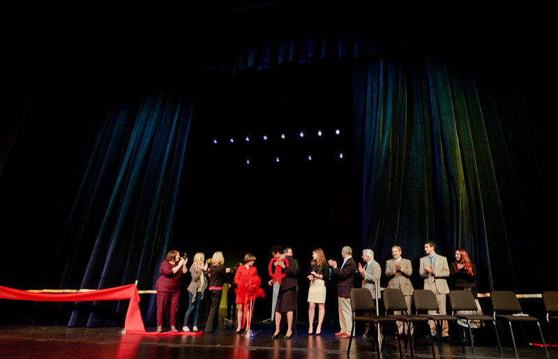 Three Stages Ribbon Cutting