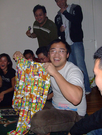 X-mas Gift Exchange at Tri's '07