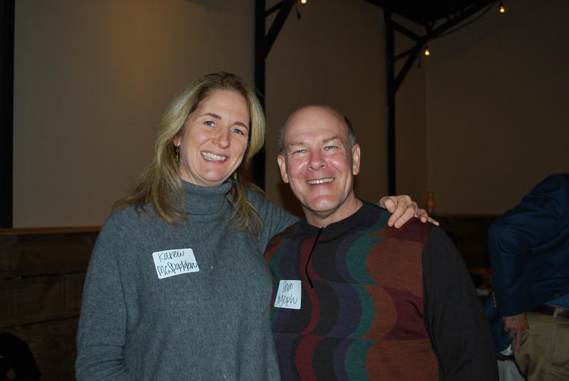 Karen McSpadden and Steve Joseph