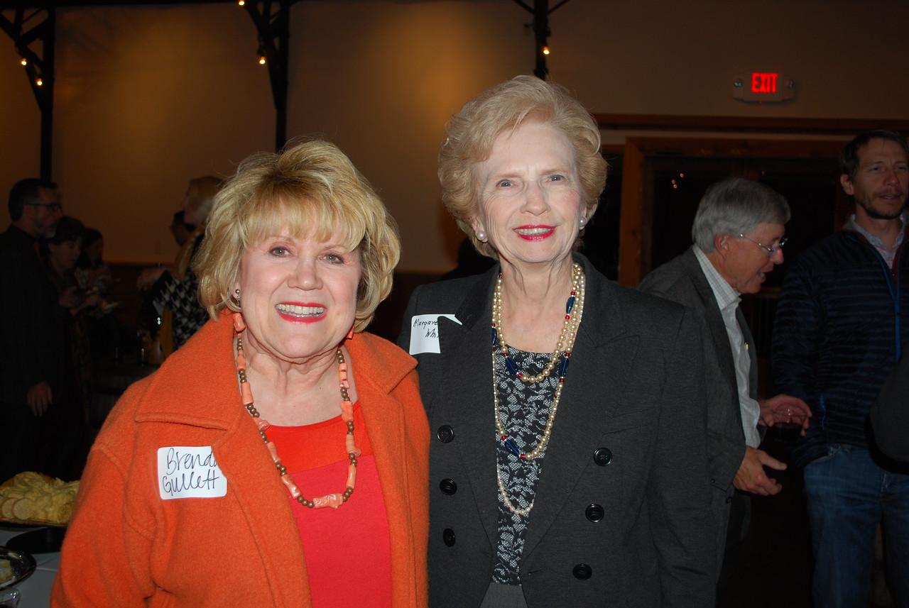 Brenda Gullett and Margaret Whillock