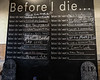 """Before I Die,"" Collingswood, NJ. October 2016"