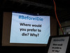 Before I Die event, Collingswood, NJ. October 29, 2017