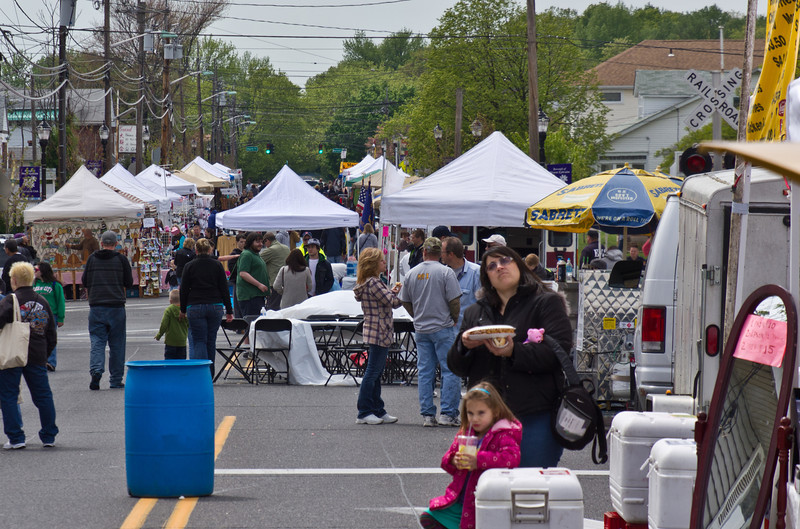 Mount Ephraim, NJ Annual Craft and Car and Motorcycle Show. Saturday, April 28, 2012.