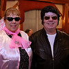 The Tewksbury Lions Club and Rotary Club joined forces on Friday night at the Tewksbury Country Club to host a Sock Hop-themed fundraising event to raise money for local charities. Susan Garvey and Jerry Selissen the Lions club Treasurer. SUN/JOHN LOVE